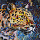 Oil painting Leopard. Picture. Buy oil painting. Pictures. Pictures. pirogov-maxim (pirogov-maxim). Online shopping on My Livemaster.  Фото №2