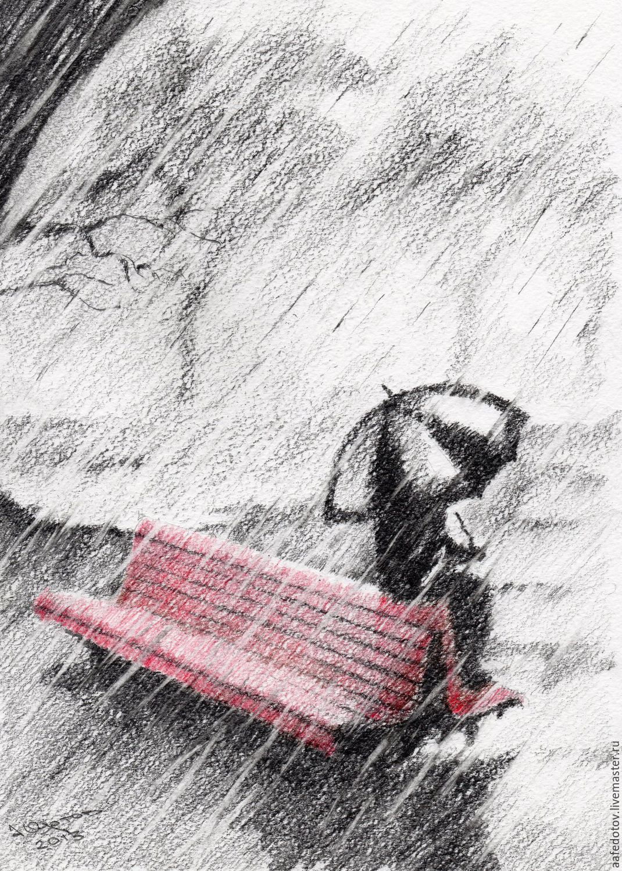 картинки черно белые на тему осень