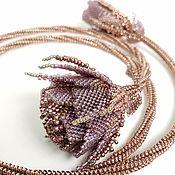 handmade. Livemaster - original item Rose Necklace