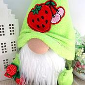 Куклы и игрушки handmade. Livemaster - original item Summer Gnome interior toy, a gnome as a gift to new residents. Handmade.