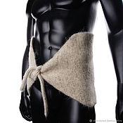 Аксессуары handmade. Livemaster - original item Sheep wool belt with drawstring. Handmade.