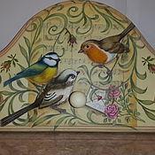 """Вешалки ручной работы. Ярмарка Мастеров - ручная работа Вешалка """"Птичьи трели"""". Handmade."""
