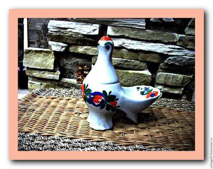 Винтажная посуда. Ярмарка Мастеров - ручная работа. Купить Курица столовый прибор для соуса соли перца. Handmade. Комбинированный, солонка
