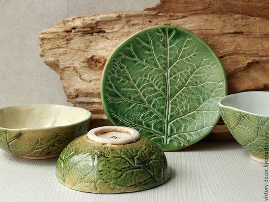 Пиалы ручной работы. Ярмарка Мастеров - ручная работа. Купить Керамические пиалы. Handmade. Зеленый, посуда из глины, керамическая посуда