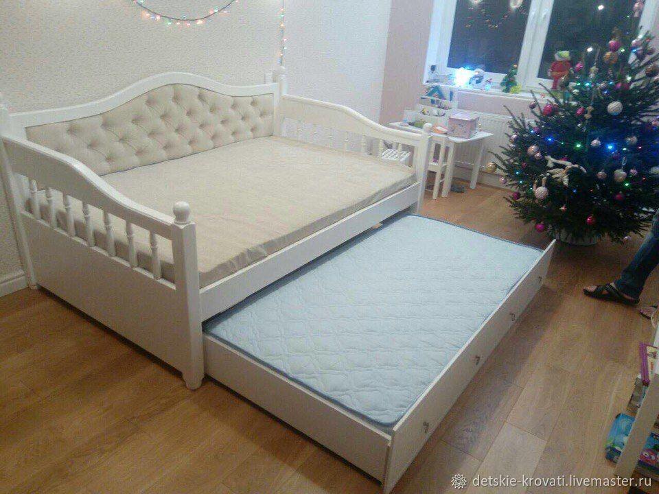 Детская кровать с выкатным спальным местом, Кровати, Санкт-Петербург, Фото №1