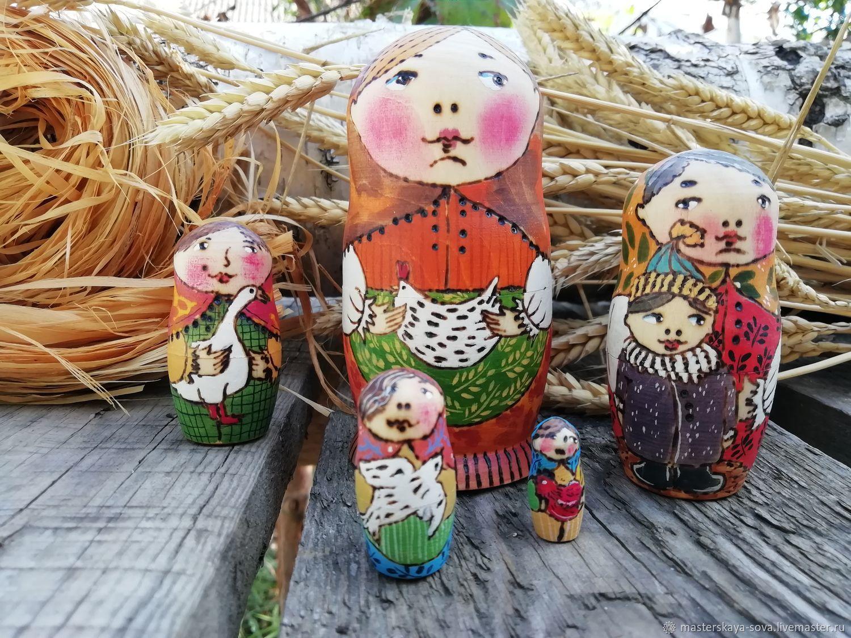 Matryoshka: ' birds', Dolls1, Zheleznovodsk,  Фото №1