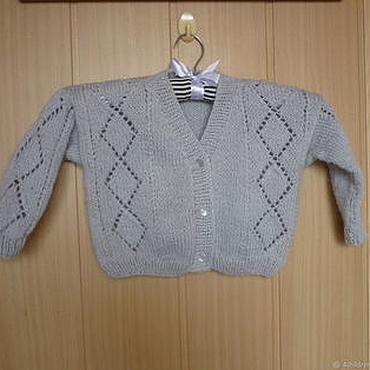 Clothing handmade. Livemaster - original item Crochet handmade jacket for girl. Handmade.