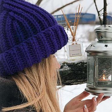 Accessories handmade. Livemaster - original item Hat FROST. Handmade.