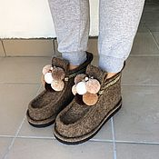 Обувь ручной работы handmade. Livemaster - original item Boots women`s more
