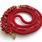 Украшения handmade. Livemaster - original item With pendant-harness with coral. Handmade.