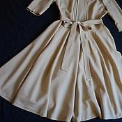Одежда ручной работы. Ярмарка Мастеров - ручная работа Платье из  шерсти. Handmade.
