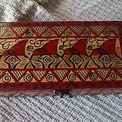 Для дома и интерьера handmade. Livemaster - original item Jewelry box, bill holder