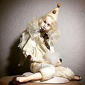 Куклы и игрушки ручной работы. Ярмарка Мастеров - ручная работа Старый театр. Ангел-Пьеро.. Handmade.