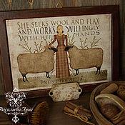 """Картины и панно ручной работы. Ярмарка Мастеров - ручная работа Панно  """" Ручная работа"""". Handmade."""