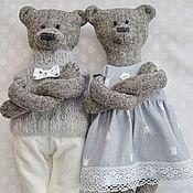 Куклы и игрушки ручной работы. Ярмарка Мастеров - ручная работа Мишки Mr. and Mrs. Bear, медведи ручной работы,. Handmade.