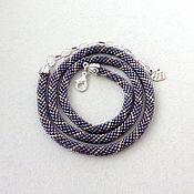 Украшения handmade. Livemaster - original item The thinnest string of beads on the neck. Handmade.