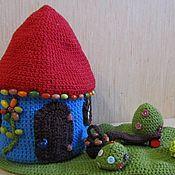 Для дома и интерьера ручной работы. Ярмарка Мастеров - ручная работа Шкатулка домик в деревне. Handmade.
