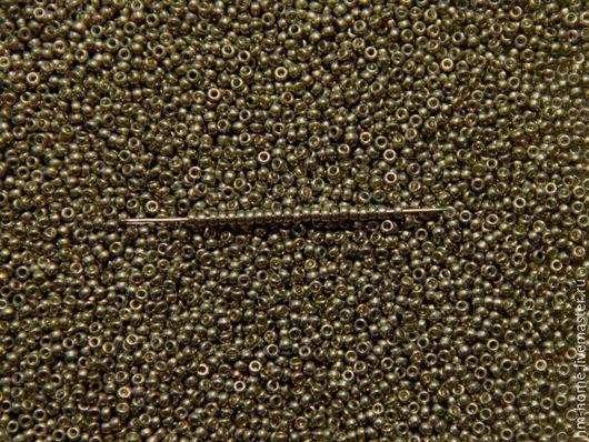 Для украшений ручной работы. Ярмарка Мастеров - ручная работа. Купить RR15-4221 Miyuki Rocailles 15/0. Handmade. Серебряный