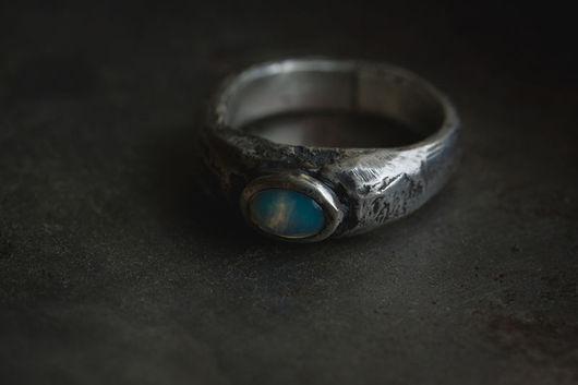 Кольца ручной работы. Ярмарка Мастеров - ручная работа. Купить Observer. Handmade. Серебряный, перстень с камнем, наблюдатель