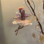 """Куклы и игрушки handmade. Livemaster - original item Needle felted fairy """"Flower"""". Handmade."""
