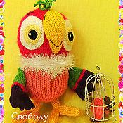 Куклы и игрушки ручной работы. Ярмарка Мастеров - ручная работа Попугай Кеша, мягкая игрушка. Handmade.