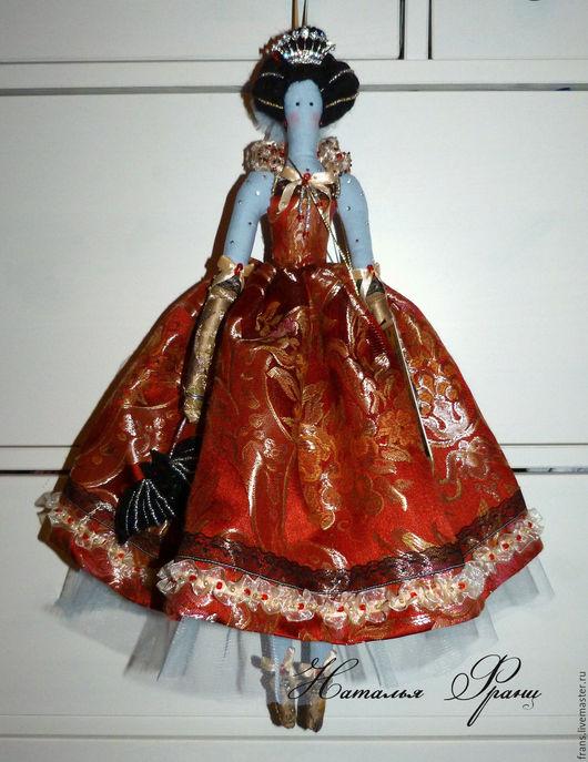 авторская кукла вампир королева