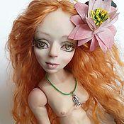 Шарнирная кукла ручной работы. Ярмарка Мастеров - ручная работа Авторская шарнирная кукла Русалочка. Handmade.