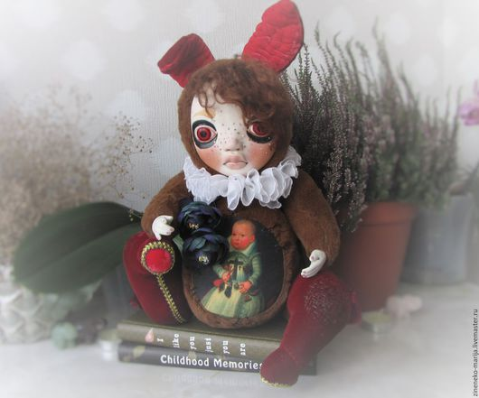 Teddy doll Люцыус (collection fairytale escaper)