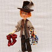 Куклы и игрушки handmade. Livemaster - original item PUSS IN BOOTS art doll, gift collectible art doll. Handmade.