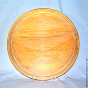Материалы для творчества handmade. Livemaster - original item Plate for painting 38 cm. Siberian Cedar Blank for Decoupage T1. Handmade.