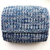 Аксессуары ручной работы. Ярмарка Мастеров - ручная работа шарф вязаный мужской теплый. Handmade.