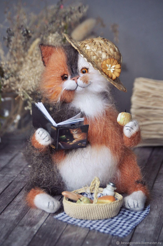 SUMMER PICNIC cat fat toy, Stuffed Toys, Severodvinsk,  Фото №1