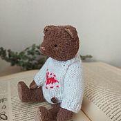 Мишки Тедди ручной работы. Ярмарка Мастеров - ручная работа Мишка Тедди в свитере. Handmade.