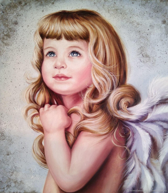 картинки ангелочек с голубыми глазами заказным письмом