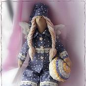 """Куклы и игрушки ручной работы. Ярмарка Мастеров - ручная работа Сонный ангел """"Мечты о звездах"""". Handmade."""