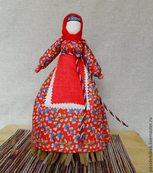 Народные куклы ручной работы. Ярмарка Мастеров - ручная работа. Купить Народная кукла Метлушка - Очистительная. Handmade. Разноцветный