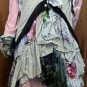 Одежда ручной работы. Ярмарка Мастеров - ручная работа Туника - платье в стиле - БОХО.. Handmade.