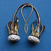 Украшения handmade. Livemaster - original item Dendelion`s earrings 2. Handmade.