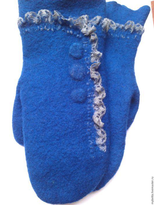Варежки, митенки, перчатки ручной работы. Ярмарка Мастеров - ручная работа. Купить варежки валяные модницы. Handmade. Варежки валяные