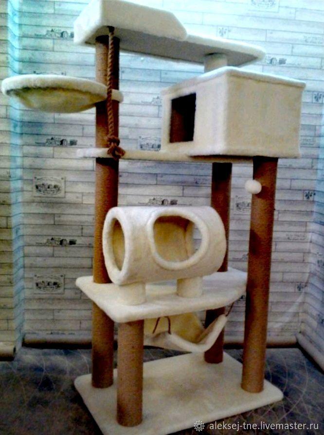 Домик для питомца: Комплекс для больших кошек номер 150, Когтеточки, Москва,  Фото №1