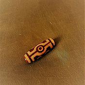 Фен-шуй и эзотерика ручной работы. Ярмарка Мастеров - ручная работа Бусина ДЗИ 7-глазая. Handmade.