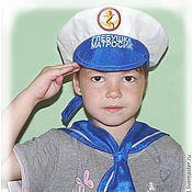 """Работы для детей, ручной работы. Ярмарка Мастеров - ручная работа Именная бескозырка для мальчика """"Матросик"""". Handmade."""