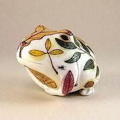 """Для дома и интерьера ручной работы. Ярмарка Мастеров - ручная работа """"Весна""""- лягушка. Handmade."""
