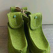 """Обувь ручной работы. Ярмарка Мастеров - ручная работа Валенки, модель """"Лето"""". Handmade."""