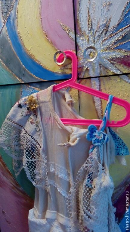 Платья ручной работы. Ярмарка Мастеров - ручная работа. Купить платье БОХО. Handmade. Платье, платье бохо, лён