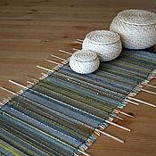 Для дома и интерьера ручной работы. Ярмарка Мастеров - ручная работа Коврик-панно, тканый с деревянными элементами. Handmade.