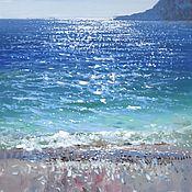 "Картины и панно handmade. Livemaster - original item Painting ""Foros breeze"". Handmade."