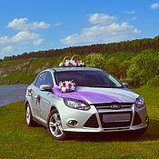 Свадебный салон ручной работы. Ярмарка Мастеров - ручная работа свадебные украшения на авто. Handmade.