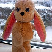 Куклы и игрушки ручной работы. Ярмарка Мастеров - ручная работа Зайка Грустинка. Handmade.
