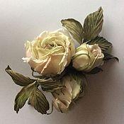 Украшения ручной работы. Ярмарка Мастеров - ручная работа Букетик роз. Handmade.